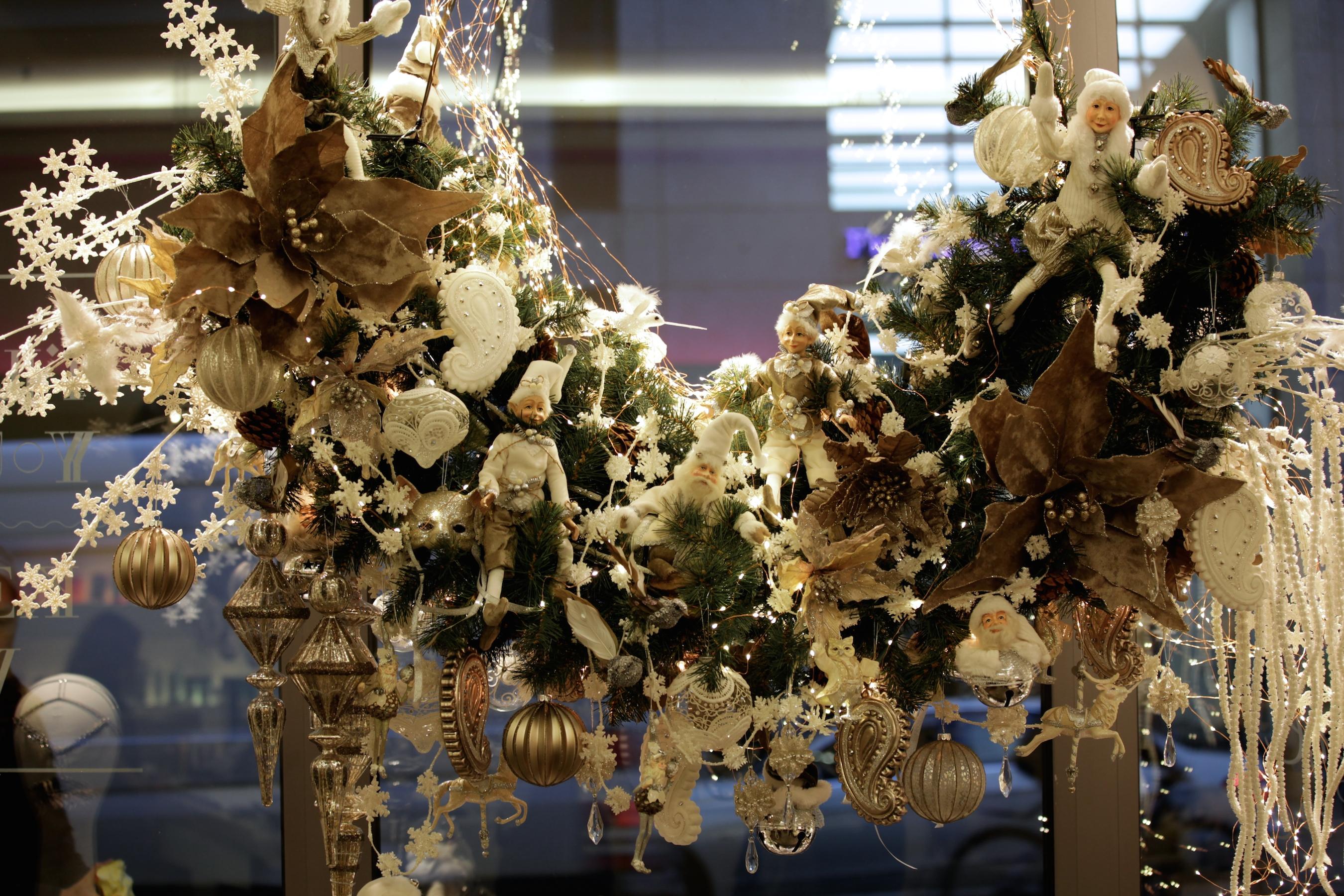 Dylus Frankfurt Weihnachtsdekoration Schaufensterdekoration Inspiration