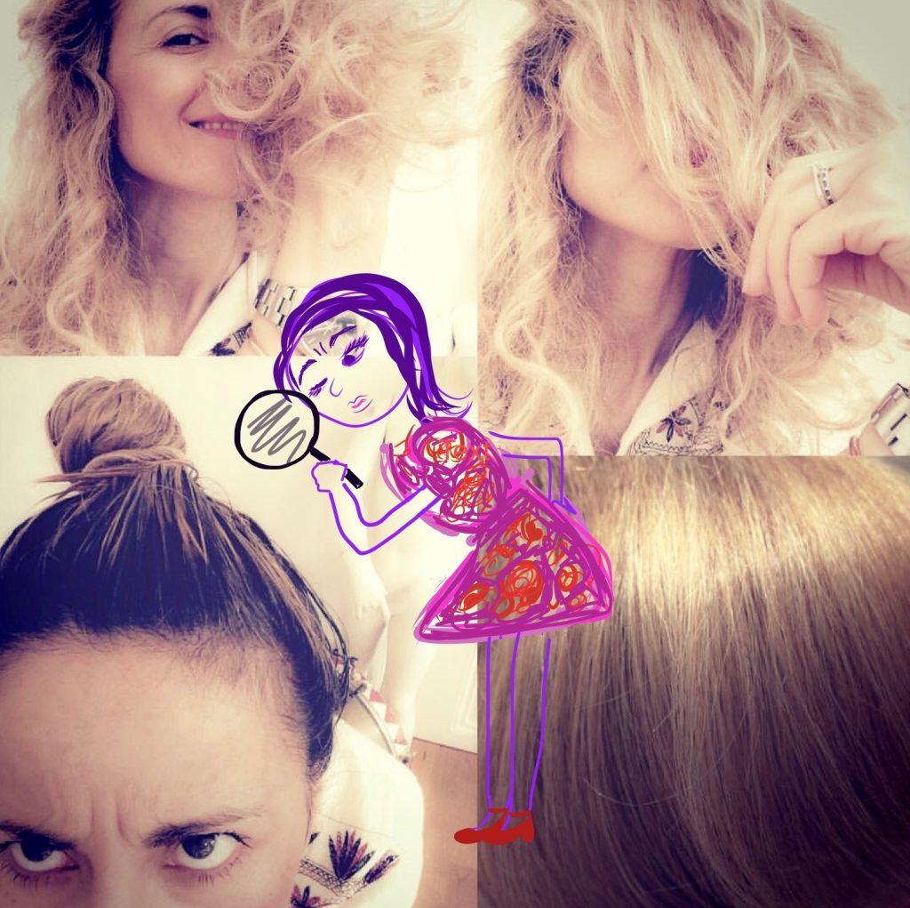 Wenn dein Haar einen Krampf hat…