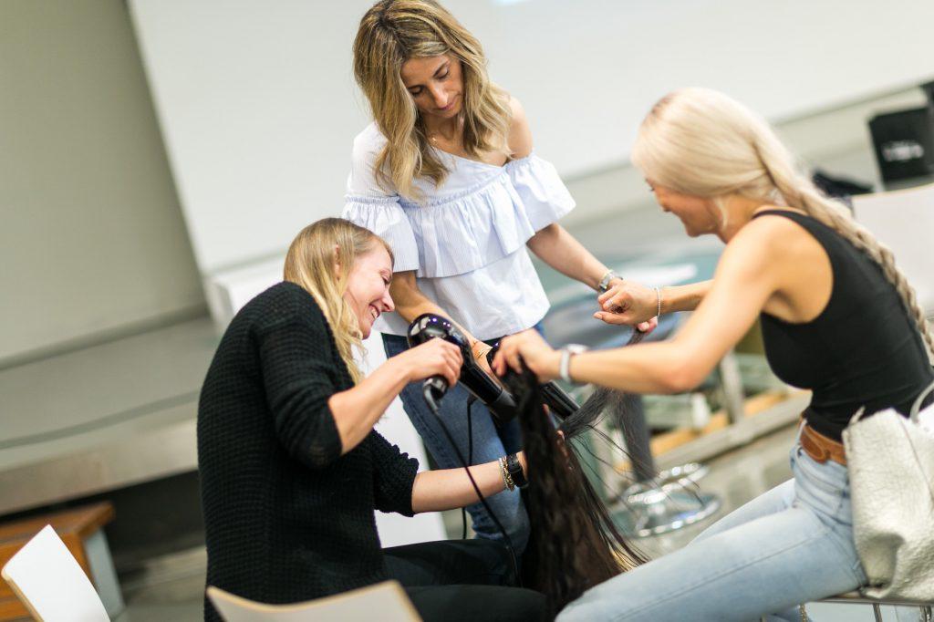 Frisuren der Berliner Fashionweek SS2017